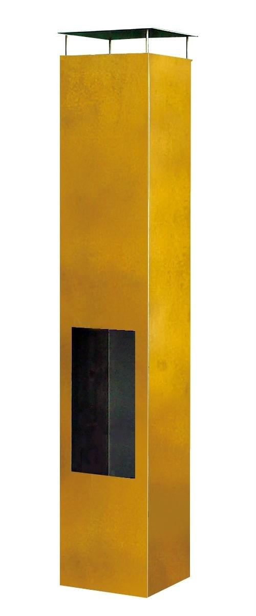 Amayo tuinhaard XL 38x38x200 cm. Corten