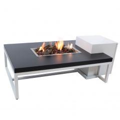 Vuurtafel enjoyfires Ambiance wit zwart 120x80