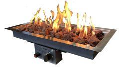 Enjoyfires inbouwbrander 60x30 cm -op aardgas-