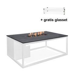 Cosiloft white/black rechthoek met gratis glasset
