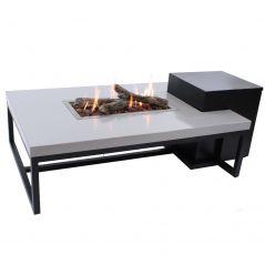 Enjoyfires vuurtafel ambiance zwart grijs 120x80