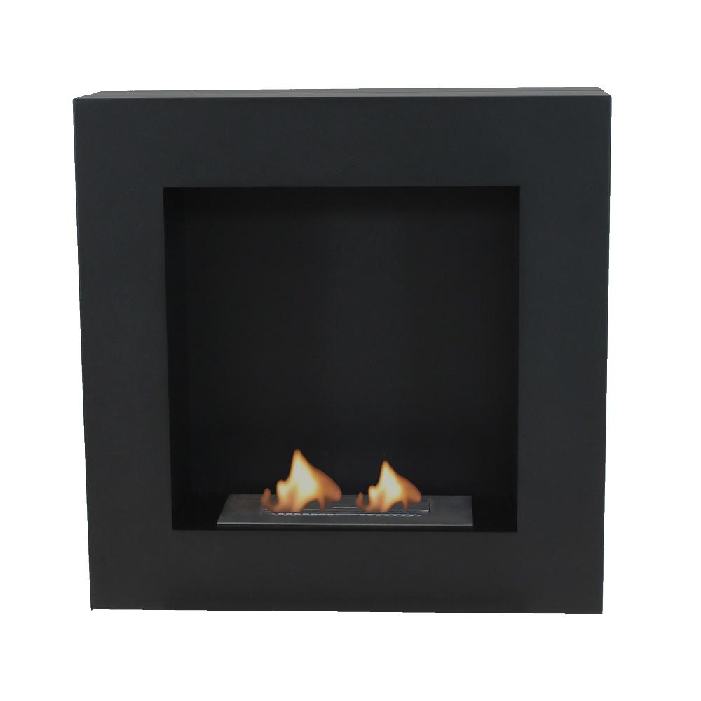 Enjoyfires wandhaard bio ethanol 60x20x60 cm - zwart