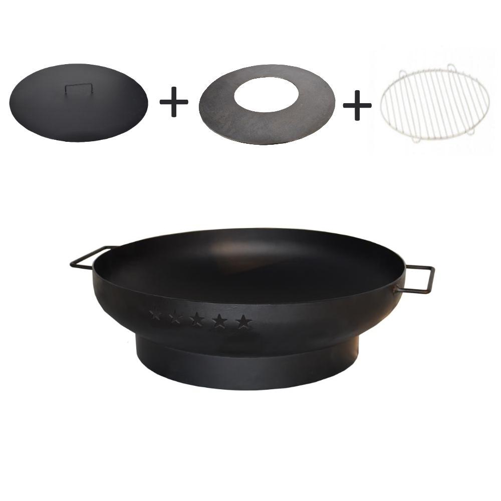 Enjoyfires vuurschaal complete BBQ set Ø50 cm
