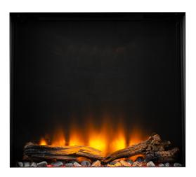 Livin'flame elektrische inbouwhaard Fey 60x60x21 cm