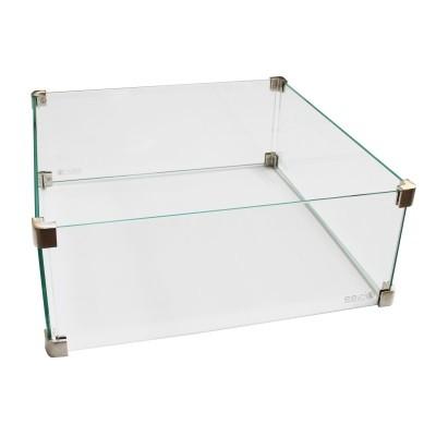 Cosi vierkante glazen ombouw 50x50x21 cm
