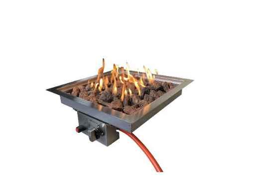 Enjoyfires Inbouwbrander 32x32x15 cm