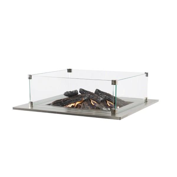 Cosi rechthoekige glazen ombouw 55x35x21 cm