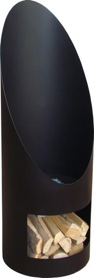 Soler tuinhaard �44x120 cm. Zwart