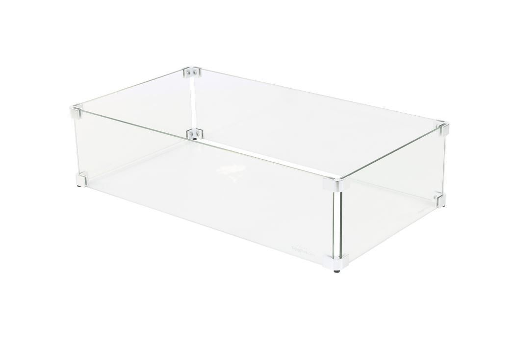 Sparkly Fire glas ombouw 70x25 cm