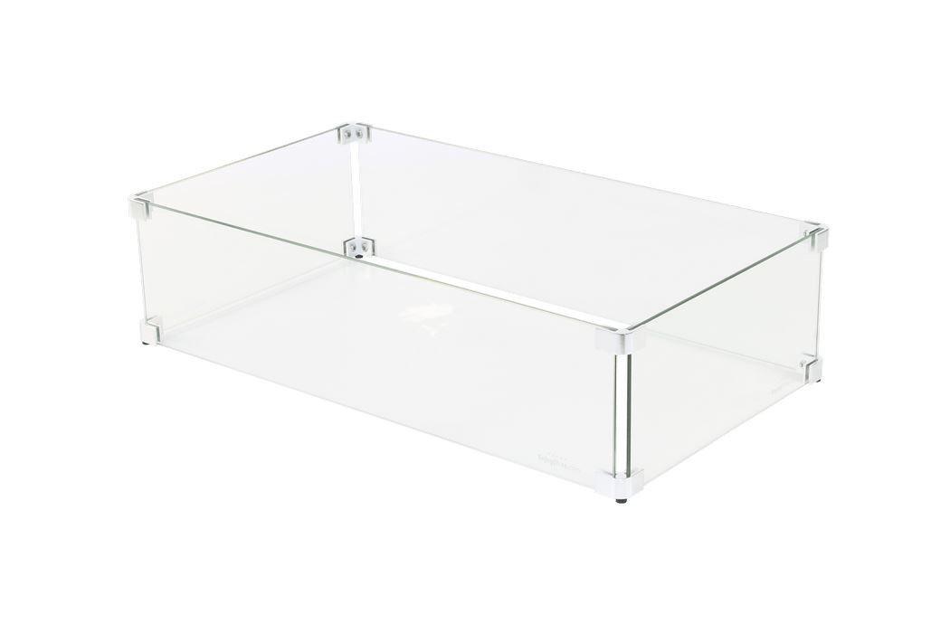Sparkly Fire glas ombouw 65x30x17 cm