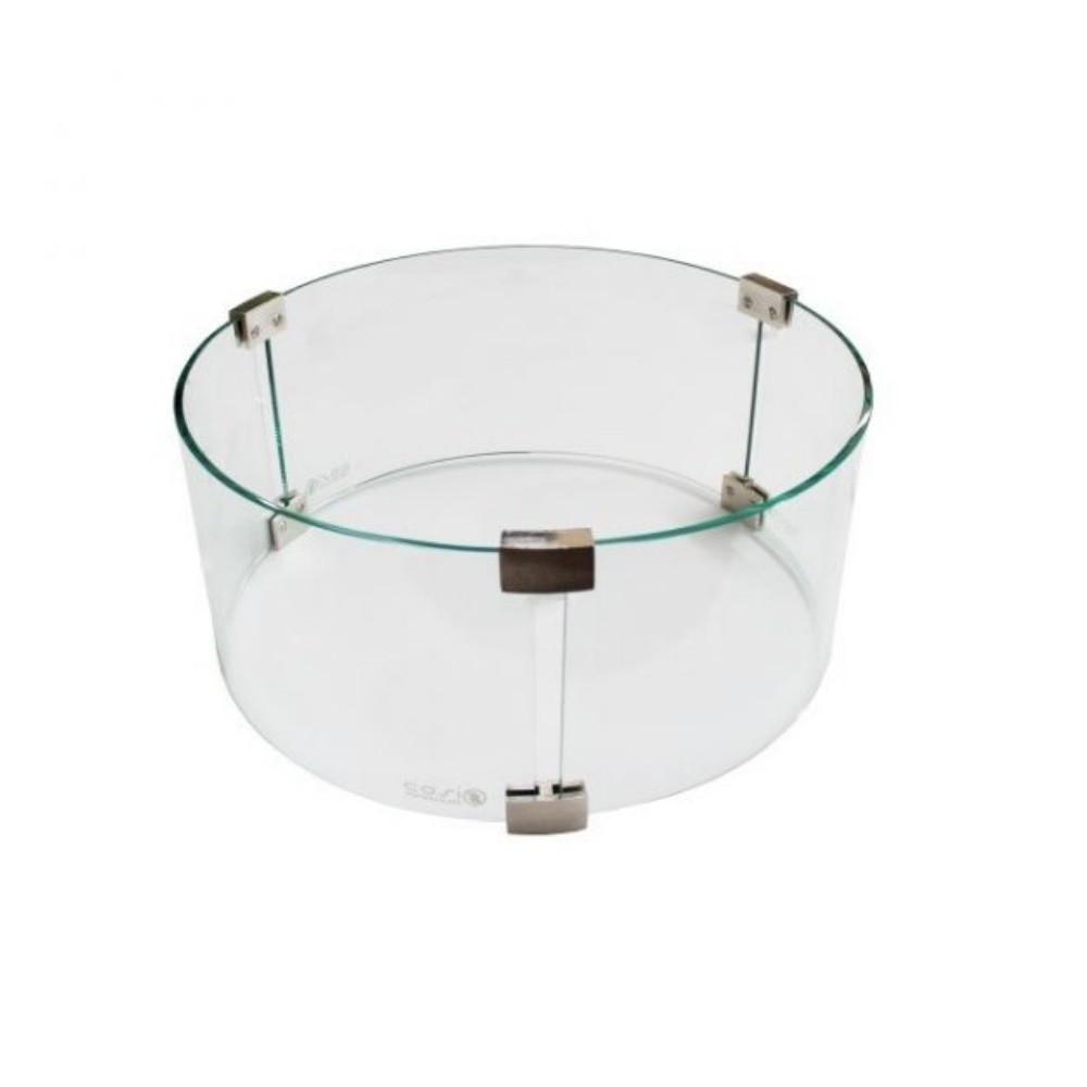 Sparkly Fire glas ombouw rond Ø50 cm