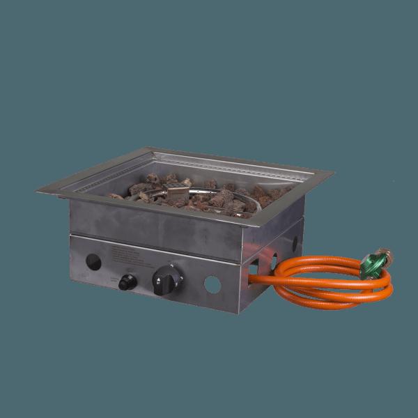 Cosi inbouwbrander vierkant 40x40x16,5 cm