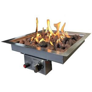 Inbouwbrander op gas