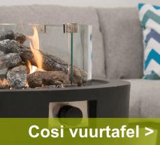 Verleng het tuinseizoen met een Cosi-fires vuurtafel
